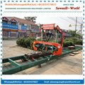 MJ1300E Horizontal Portable Bandsaw Mill Wood Cutting