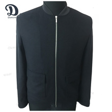 Spring and Autumn MEN'S JACQUARD BOMBER PARTY BLAZER