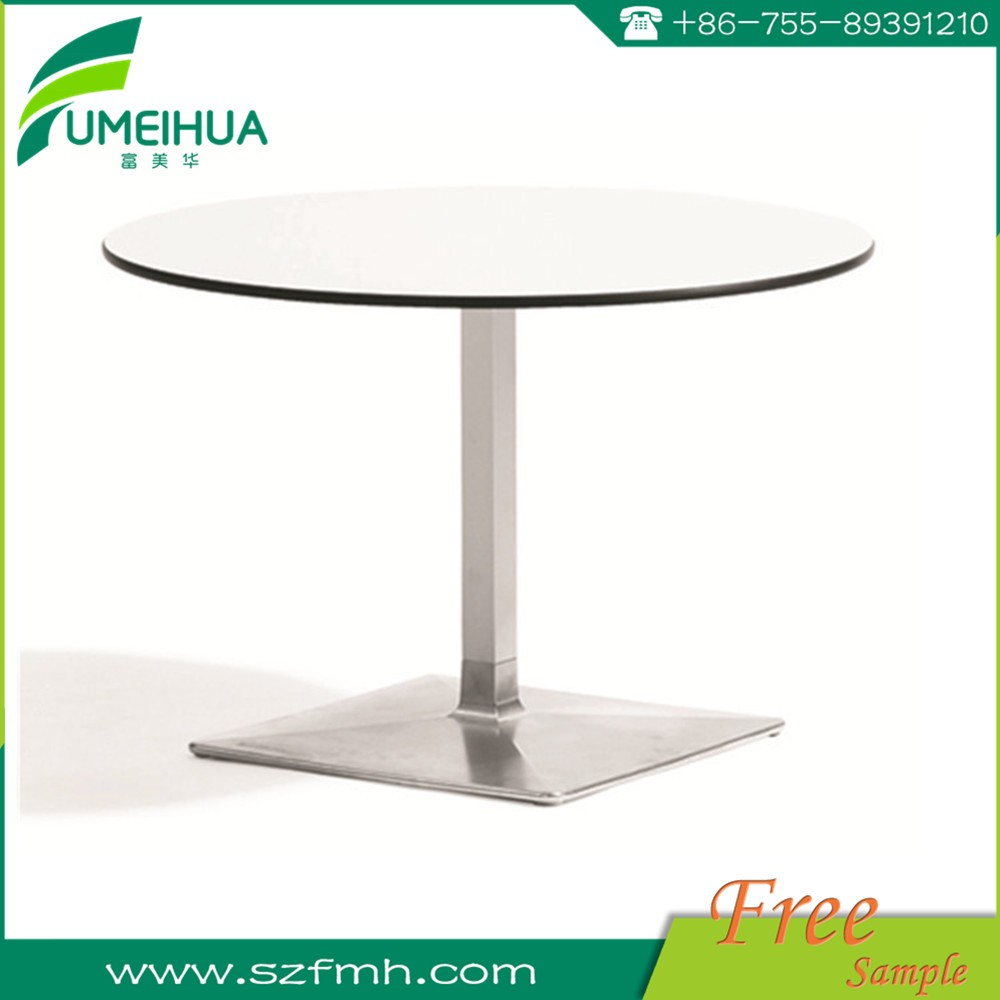 High quality long duration time waterproof compact hpl dining table