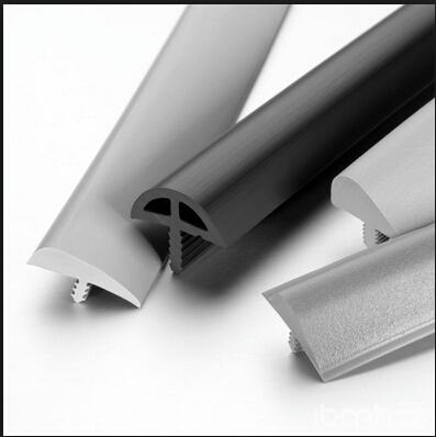Plastic pvc t molding decorative edge banding trim for for Encadrement fenetre pvc