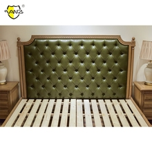 Top Quality New Style wood bed design furniture