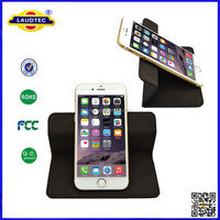 Universal Phone Leather cover with 360 Degree Rotating Design