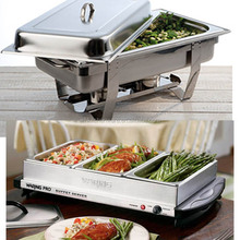 chafer, warming plate and more deluxe hotel buffet food warmer