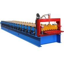 PLC controlled metal roof panel tile making machine