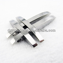 Stainless jewelry jewelry making sideways cross