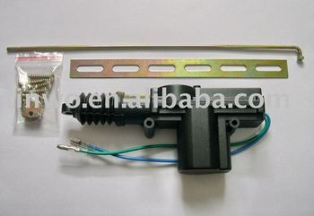 2-Wire fixed-head Gun Type Central Door Lock Actuator