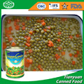 Canned sweet peas with carrots 300g 400g 800 g 3000g