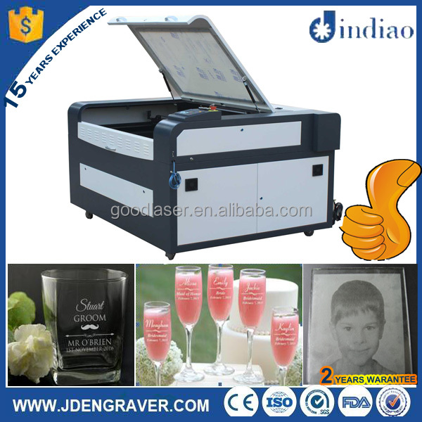 China CE FDA laser engraving glass machine for wine bottle/coffee mug/cup