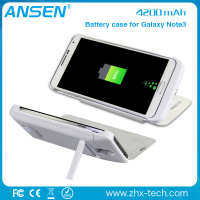 new products to sell guangzhou wireless power bank charger external wireless battery case for samsung note3