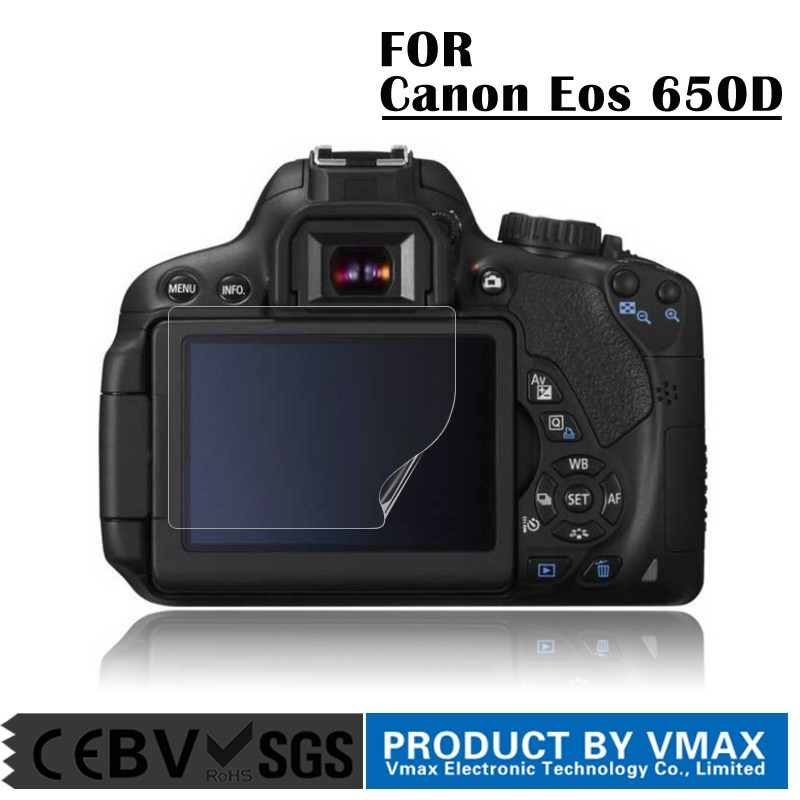 Guangzhou Manufacturer 3.0 inch Anti uv camera screen protector for Canon Eos 650D / OEM Screen protector