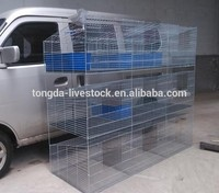 Best quality durable hutches for rabbits ISO certificate rabbit cage china factory