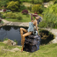 Hot Selling Sexy Brass Nude Woman Fountain for Garden Decoration