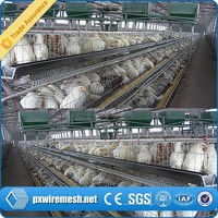 H type- hot search galvanized metal wire poultry farm house chicken cage