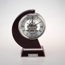 2014 hot sell high quality antique french clock,antique skeleton clock