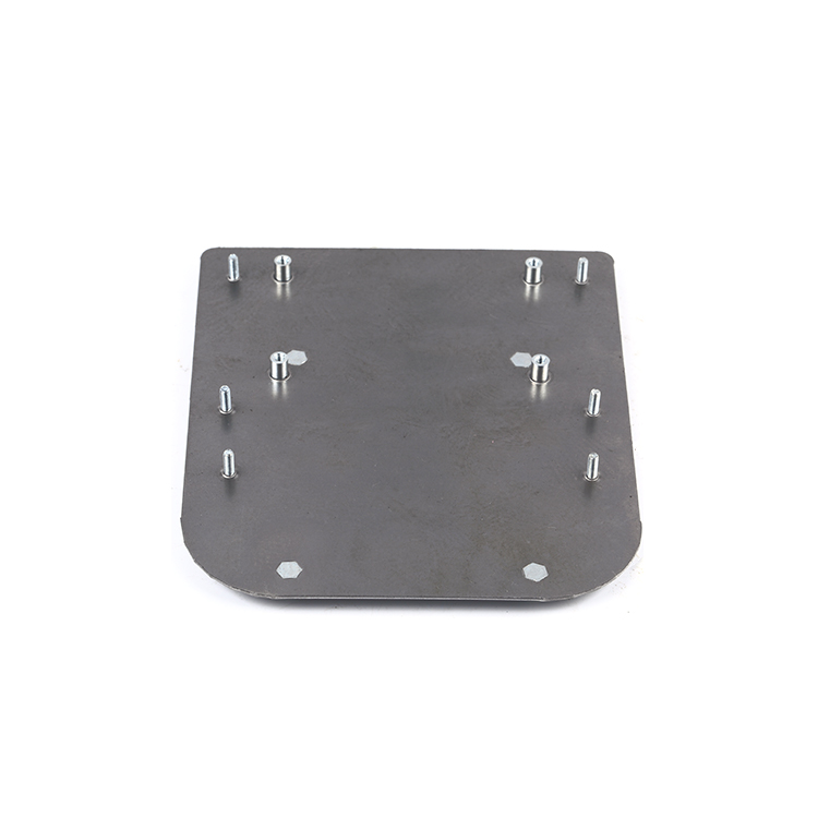 Precision manufacturing stainless steel plate sheet metal fabrication wall mounting box plate