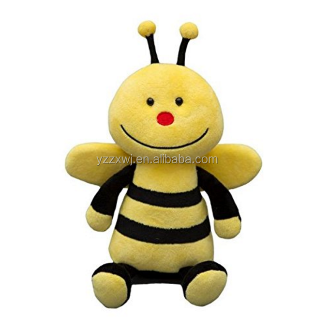 Bee 8-Inch Plush Stuffed Animal/stuffed plush honey bee toys/cute soft bee toys for children