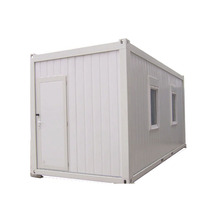 sandwich panel prefab 20ft container homes of portable construction