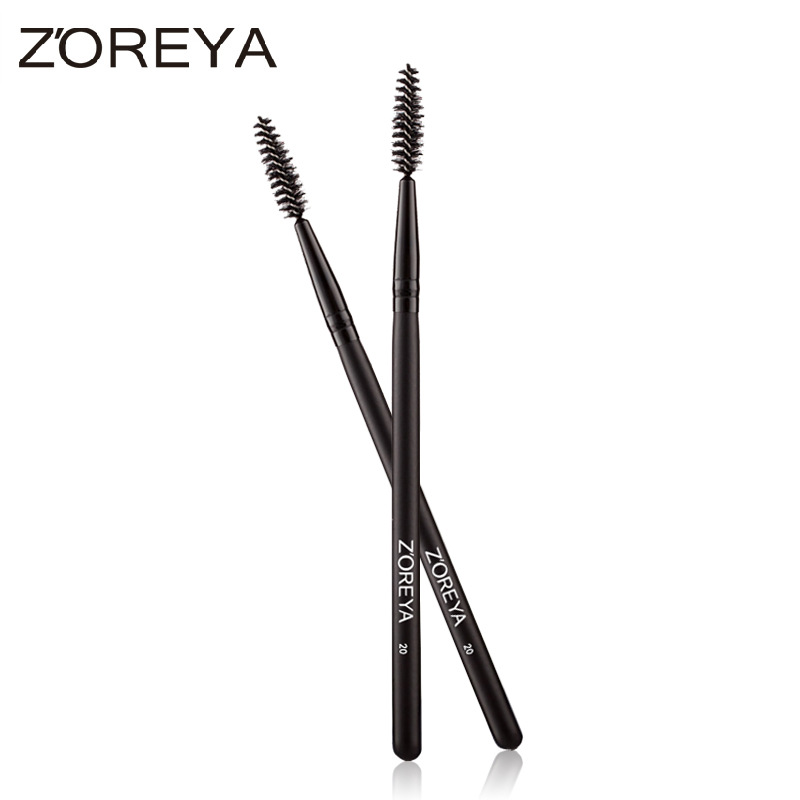 ZOREYA Brand Black Mascara Roll Make Up Brush Cosmetic Tool MT115317