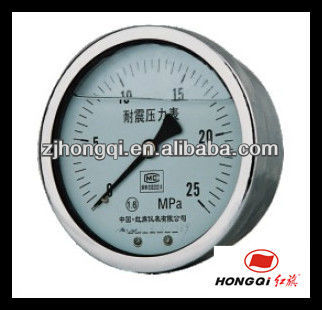 Hydraulic SS Pressure Gauge mercury manometer