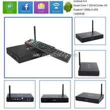 android TV box kodi professional set top box kodi professional receptor satellite hd