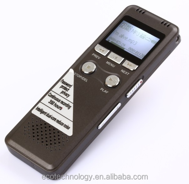 Multilingual 700 Pen Voice Recorder 8GB Can Work for 350 hours Recording Digital with MP3 Playing function