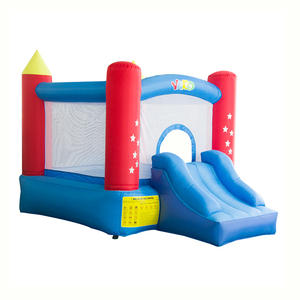YARD Nylon Home Inflatable Fun Bounce House Juegos Inflables Bouncy Castle Jumping With Slide