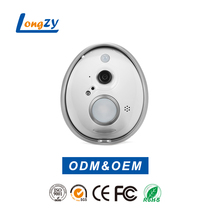 Unique Egg Shape Design Smart Wifi Enabled Video Doorbell Home Security Camera Monitor Intercom System