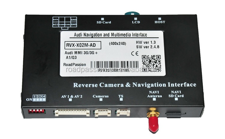 Multimedia & GPS Navigation Interface Digital Navigator For Audi MMI 3G A8L