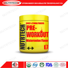 Pre-Workout Nutrition Supplement Powder Watermelon Flavor Energy Drink