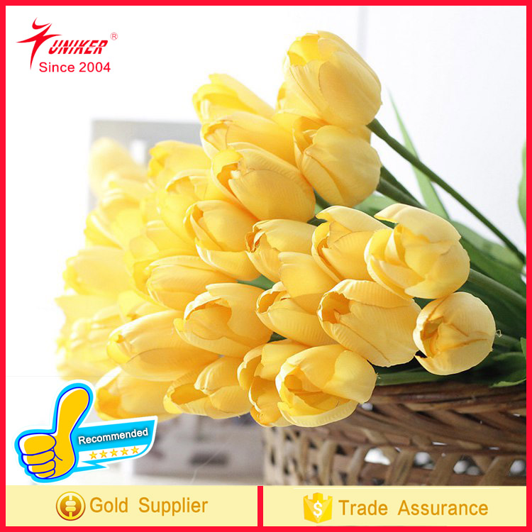 2017 trend prouct High Quality tulip Real Touch Flower Artificial