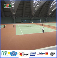 Outdoor plastic tennis court surface materials price