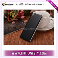 "no brand Best QHD Full Lamination Quad core Android 4.4 3G best 4.5"" smart phone with Wake Gesture Q3"