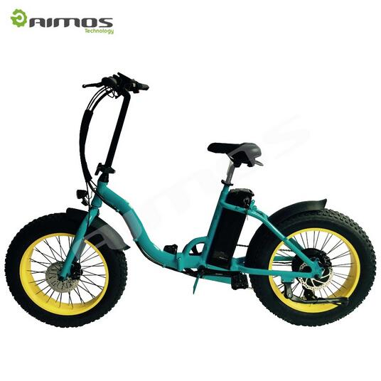 New Brushless Motor and < 25km Per Hour Max Speed folding electric bicycle / ebike