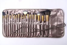 Nake news 18pcs latest makeup brushes set in market best seller 2015