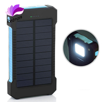 10000mah Unversial Waterproof Solar Power Bank