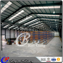 construction design prefabricated structure workhouse shed workshop factory