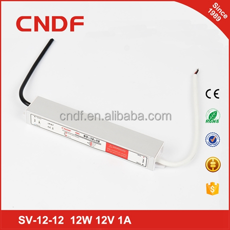 CNDF 110/220vac to 12vdc 1a 12w applied to christmas light led bulb driver