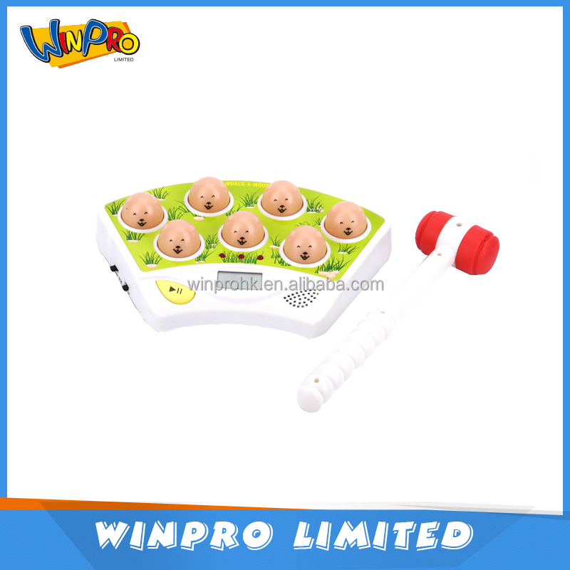 Guangdong China New item kid toy Whack a mouse with hammer