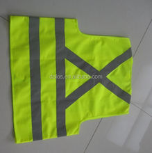 For south america market reflective vest safety vest with pockets motorcycle reflective safety vest