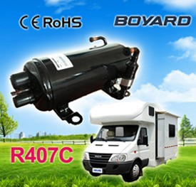 Electric a/c compressor for auto air conditioning system compressor type tractor cab air conditioner