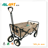 Newes foldable shopping cart trolley beach trolley