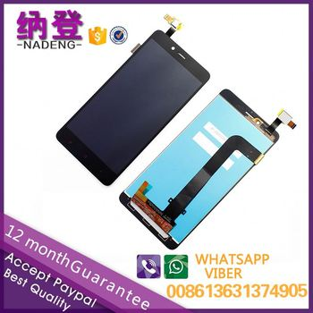 2017 hot sale lcd screen for XiaoMi Redmi note 2 lcd assembly in alibaba