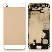 back housing cover case assembly for iphone 5 gold original housing