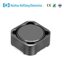 Variable ferrite core surface mounted inductor coils