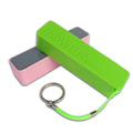 Mobile External Battery Charger USB Portable Power Bank 2600mah,lipstick Smart power bank
