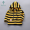 Latest Trendy Pullover Design Long Sleeve Kids Baby's Autumn Clothes Stripe OEM Hoodies