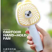 Lovely design 3 speeds low voltage handheld usb portable mini hand fan