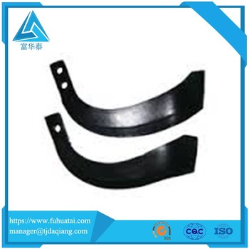 High quality OEM rainbow cutting power rotary tiller blades