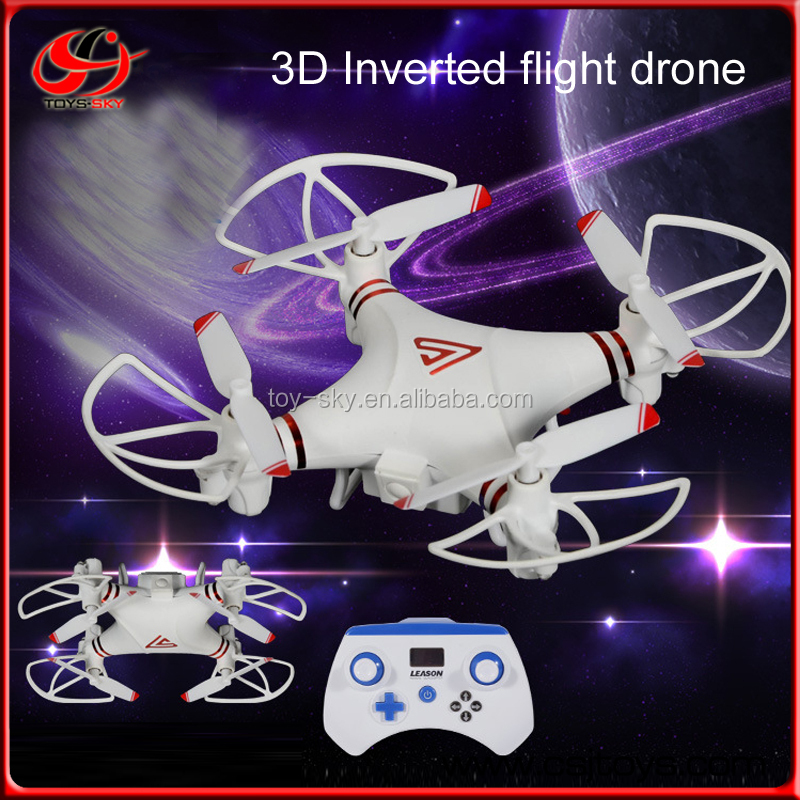 3D Inverted Flight 2.4G Flying Quadcopter Hobby Drone RC Helicopter With Camera LS-215