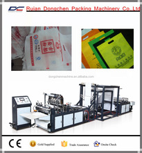 PP Non Woven Fabric Bag Making Machine Wenzhou Price